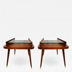 Pair of Mid Century Modern side tables  - 1973009