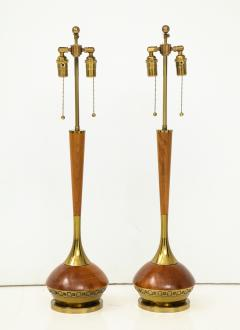 Pair of Mid Century Modern table lamps By Laurel Lamp Company  - 880894
