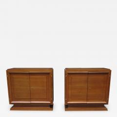 Pair of Mid Century Oak Cabinets - 776210