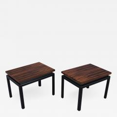 Pair of Mid Century Rosewood Side Tables - 2144602