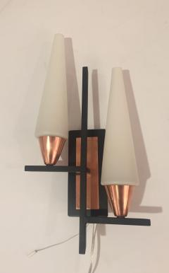 Pair of Mid Century Wall Sconces - 704330