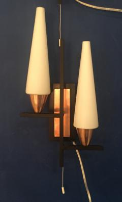 Pair of Mid Century Wall Sconces - 704331