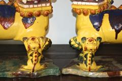 Pair of Monumental Chinese Buddhist Lionesses - 1847496
