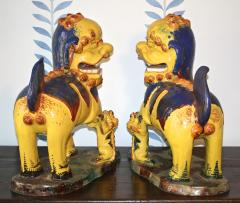 Pair of Monumental Chinese Buddhist Lionesses - 1847497