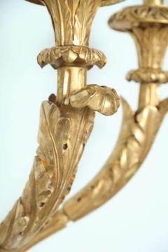 Pair of Monumental Giltwood Wall Appliques Roman - 396876