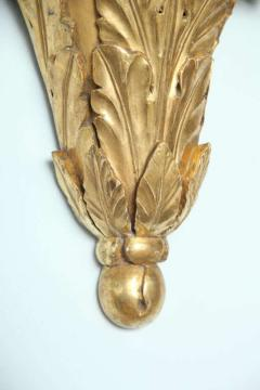 Pair of Monumental Giltwood Wall Appliques Roman - 396877