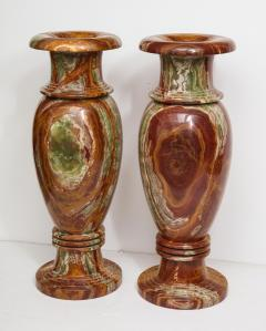 Pair of Monumental Onyx Urns - 1610013