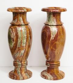 Pair of Monumental Onyx Urns - 1610014