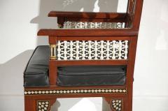 Pair of Moroccan Moorish Armchairs - 338448