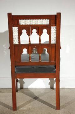 Pair of Moroccan Moorish Armchairs - 338449