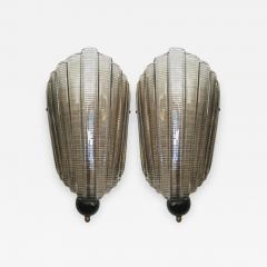 Pair of Murano Glass Wall Sconces - 1162794