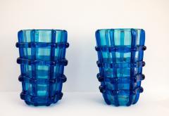 Pair of Murano vases signed Sergio Costantini - 1936632