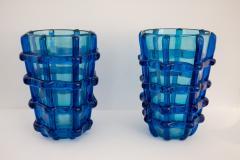 Pair of Murano vases signed Sergio Costantini - 1936633