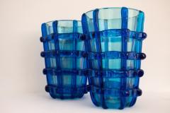 Pair of Murano vases signed Sergio Costantini - 1936640