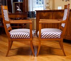 Pair of Neoclassic Fauteuils - 1293934
