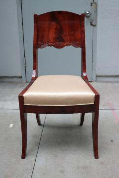 Pair of Neoclassical Side Chairs - 1853994