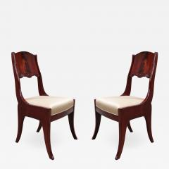 Pair of Neoclassical Side Chairs - 1855998