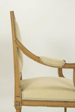 Pair of Neoclassical Swedish Armchairs - 2057691