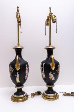 Pair of Neoclassical Table Lamps - 976009