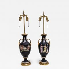 Pair of Neoclassical Table Lamps - 976764