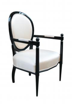 Pair of Neoclassically inspired Armchairs - 1854002