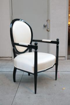 Pair of Neoclassically inspired Armchairs - 1854006