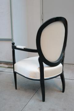 Pair of Neoclassically inspired Armchairs - 1854014
