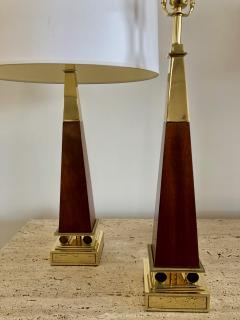 Pair of Obelisk Lamps  - 1368242
