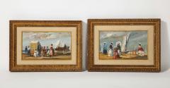 Pair of Oil Paintings The Beach - 1785439