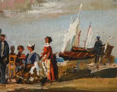 Pair of Oil Paintings The Beach - 1785440