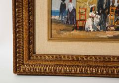 Pair of Oil Paintings The Beach - 1785443