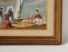 Pair of Oil Paintings The Beach - 1785444