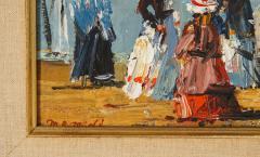 Pair of Oil Paintings The Beach - 1785446