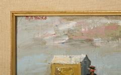Pair of Oil Paintings The Beach - 1785447