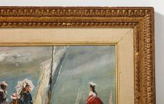 Pair of Oil Paintings The Beach - 1785448