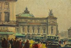 Pair of Paintings Paris Streets - 1785622