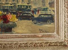 Pair of Paintings Paris Streets - 1785623