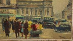 Pair of Paintings Paris Streets - 1785624