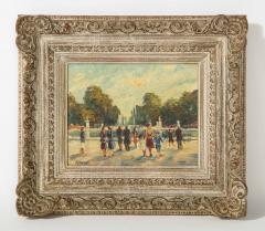 Pair of Paintings Paris Streets - 1785625