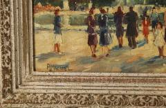 Pair of Paintings Paris Streets - 1785628