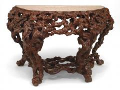 Pair of Pair of Chinese Rustic Root Console Tables - 1427673