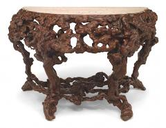 Pair of Pair of Chinese Rustic Root Console Tables - 1427674