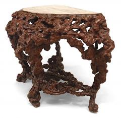 Pair of Pair of Chinese Rustic Root Console Tables - 1427675