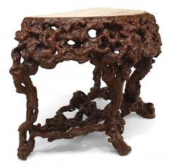 Pair of Pair of Chinese Rustic Root Console Tables - 1427676