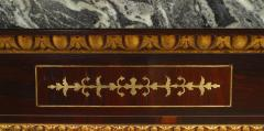 Pair of Pair of English Regency Rosewood Gilt Dolphin Console Table - 1427458