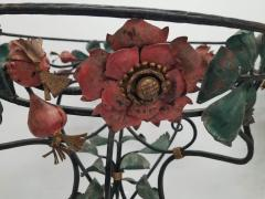 Pair of Period Art Nouveau Wrought iron Fernery Plant Stands - 1221438