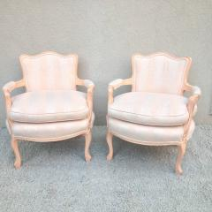 Pair of Petite Fauteuil Louis XV Chairs - 98595