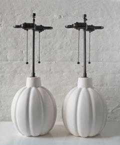 Pair of Plaster Lamps - 670536