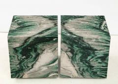 Pair of Polar Verde Cubes Side Tables - 1795287