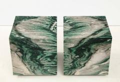 Pair of Polar Verde Cubes Side Tables - 1795289
